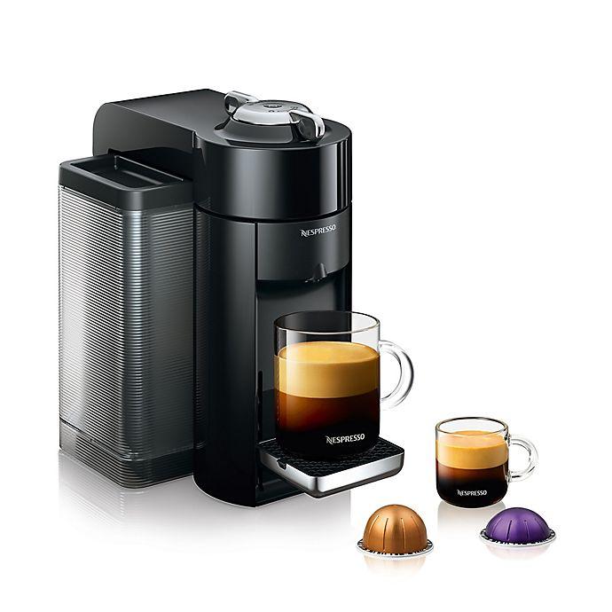 Alternate image 1 for Nespresso® by De'Longhi Evoluo Coffee and Espresso Maker in Black