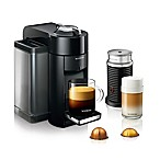 Nespresso® by De'Longhi Evoluo Coffee and Espresso Maker Bundle with Aeroccino Frother in Black