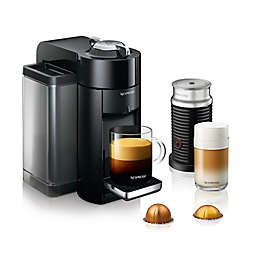 Nespresso® by De'Longhi Evoluo Coffee and Espresso Maker Bundle with Aeroccino Frother