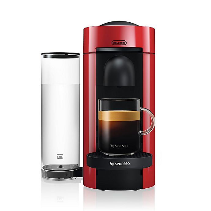 Alternate image 1 for Nespresso® by De'Longhi Vertuo Plus Coffee and Espresso Maker in Red