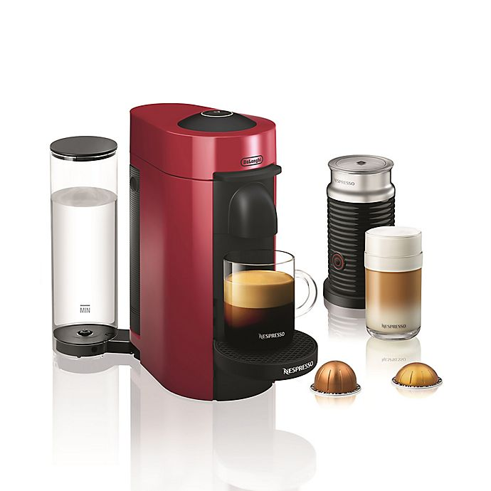 Alternate image 1 for Nespresso® by De'longhi VertuoPlus Coffee and Espresso Maker Bundle and Aeroccino Frother