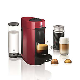 Nespresso® by De'longhi VertuoPlus Coffee and Espresso Maker Bundle and Aeroccino Frother