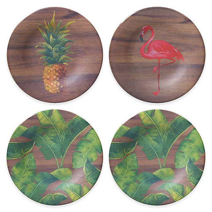 Alternate image 1 for Phocacia Appetizer Plates (Set of 4)