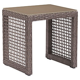 Zuo® Coro Patio End Table in Cocoa