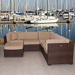 Atlantic Bellagio 6-Piece Patio Sectional Set