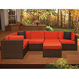 Atlantic Bellagio 6-Piece Patio Sectional Set