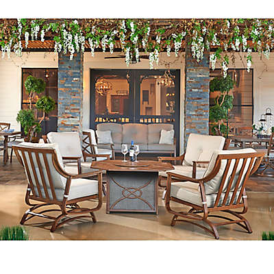 Trisha Yearwood Home Collection 5-Piece Fire Pit Chat Set