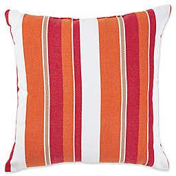 Encinitas Outdoor Throw Pillow in Red