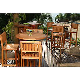 Amazonia Ibiza 4-Piece Patio Bar Set