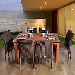 Amazonia Provence 9-Piece Square Patio Dining Set