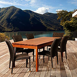 Amazonia Jamison 7-Piece Rectangular Patio Set