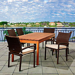 Amazonia Maynard 7-Piece Rectangular Patio Dining Set