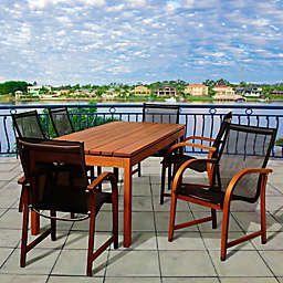 Amazonia Fletcher 7-Piece Outdoor Dining Set