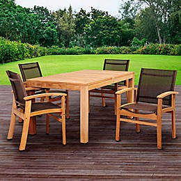 Amazonia Devlin 5-Piece Outdoor Dining Set