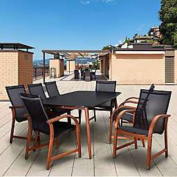 Amazonia Carolina 9-Piece Rectangular Patio Set