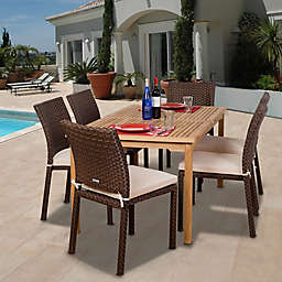 Amazonia Luxemburg 7-Piece Rectangular Patio Set