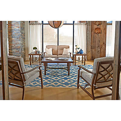 Trisha Yearwood Home Outdoor 6-Piece Seating Set in Beige