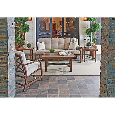 Trisha Yearwood Demo 5-Piece Outdoor Conversation Set in Beige