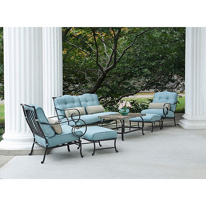 Alternate image 1 for Hanover Oceana 6-Piece Patio Set