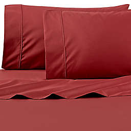 Wamsutta® PimaCott® Solid 625-Thread-Count Twin Sheet Set in Rust
