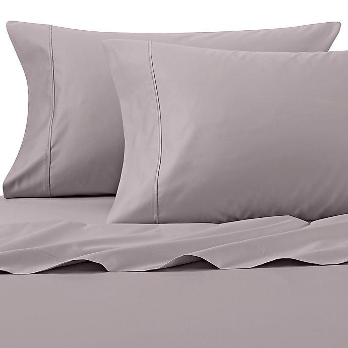 Alternate image 1 for Wamsutta® PimaCott® Solid 625-Thread-Count California King Sheet Set in Lavender