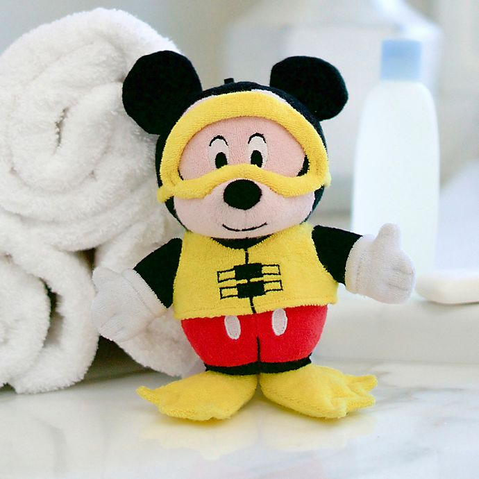 Alternate image 1 for SoapSox® Disney® Mickey Mouse Bath Scrub