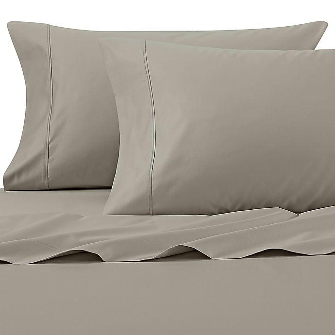 Alternate image 1 for Wamsutta® 625-Thread Count PimaCott® Standard Pillowcases in Sage (Set of 2)
