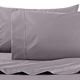 Wamsutta® PimaCott® Solid 625-Thread-Count Twin Sheet Set in Charcoal
