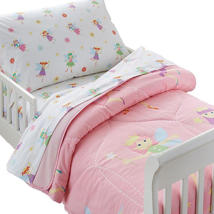 Alternate image 1 for Olive Kids Fairy Princess Toddler Sheet Set