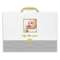 Pearhead Baby's Little Organizer in Black/Gold