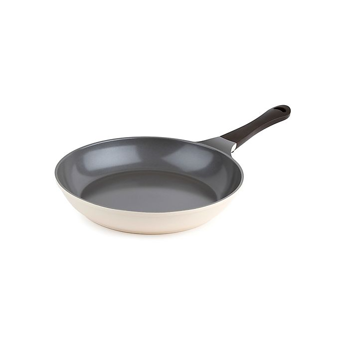 Alternate image 1 for Neoflam® Eela™ Ceramic Nonstick 12-Inch Round Frying Pan in Ivory