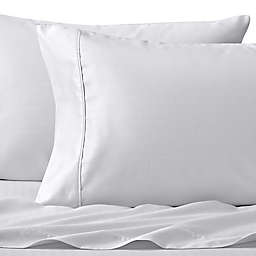 Wamsutta® Dream Zone® PimaCott Herringbone 625-Thread-Count Standard Pillowcase Set in White