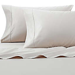 Wamsutta® PimaCott® Solid 625-Thread-Count Standard Pillowcase Set in Stone