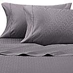Wamsutta® 625-Thread Count PimaCott® Scroll Queen Sheet Set in Charcoal