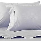 Wamsutta® 625-Thread Count PimaCott® Dot Queen Sheet Set in Light Blue