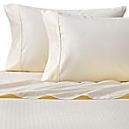 Wamsutta® 625-Thread Count PimaCott® Herringbone Stripe Queen Sheet Set in Ivory