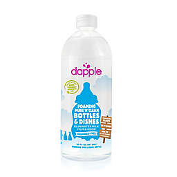 dapple® 30 oz. Fragrance-Free Pure 'N' Clean Foaming Baby Bottle and Dish Liquid Cleaner