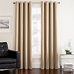 Twilight 84-Inch Room Darkening Grommet Window Curtain Panel in Linen
