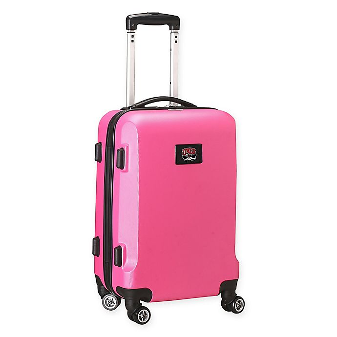 Alternate image 1 for University of Nevada, Las Vegas 20-Inch Hardside Carry On Spinner in Pink