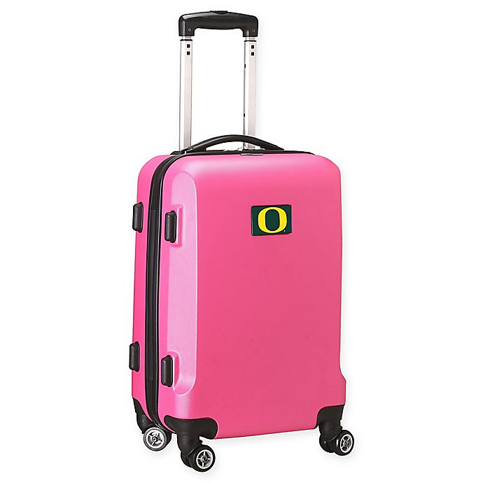 Alternate image 1 for University of Oregon 20-Inch Hardside Carry On Spinner in Pink