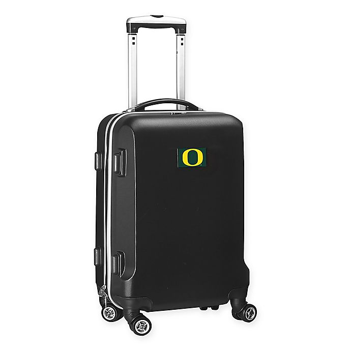 Alternate image 1 for University of Oregon 20-Inch Hardside Carry On Spinner in Black
