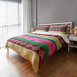Boho Stripes Duvet Cover