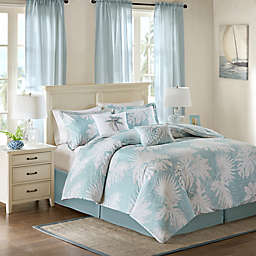 Harbor House™ Palm Grove Comforter Set in Blue