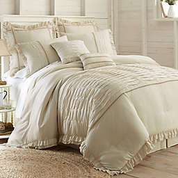 PCT Home Antonella Jacquard 8-Piece Comforter Set in Natural