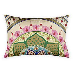 Designs Direct Boho Medallion Pillow Sham in Green