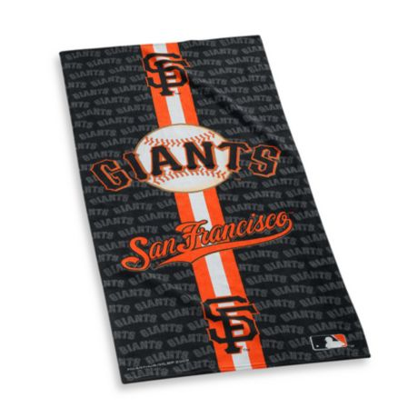 d66702e1 Major League Baseball San Francisco Giants Beach Towel   Bed Bath ...