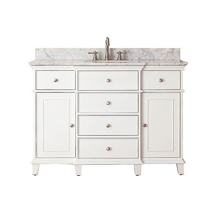 Alternate image 1 for Avanity Windsor 49-Inch Single Vanity in White