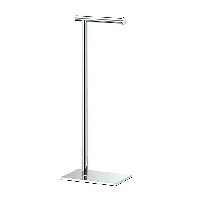 Alternate image 1 for Gatco® Latitude II Standing Toilet Tissue Holder in Chrome