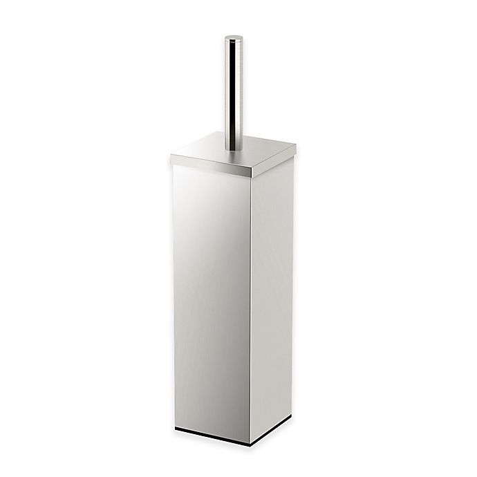 Alternate image 1 for Gatco® 14.5-Inch Square Toilet Brush Holder