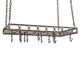 Old Dutch International 36-Inch Pot Rack in Oiled Bronze